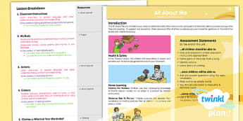 PlanIt - French Year 3 - All About Me Planning Overview - planit, french, unit
