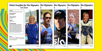 Welsh Athletes Fact File - welsh, cymraeg, Welsh Athletes Fact File, Olympic Hopefuls, Paralympic Hopefuls, Rio Olympics 2016