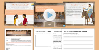 The Last Supper Lesson Pack - Christianity; Last Supper; Communion; Eucharist; Jesus; Gospel