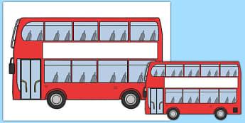 Bus Cut Out - australia, bus, cut out, transport, public transport, red bus