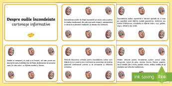 Despre ouăle încondeiate Cartonașe informative - Easter, Paști, Paste, Paște, sărbătoare, informatii, cartonase informative, despre, oua, ouă,