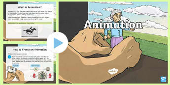 Animation PowerPoint - CfE Digital Learning Week (15th May 2017) Digital learning and teaching strategy animation technolog