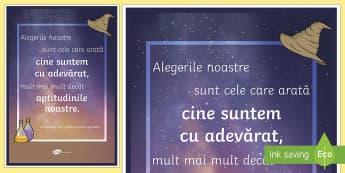 Alegerile noastre - Planșă motivațională - motivație, dezvoltare personală, română, pozitiv, gândire pozitivă, motivația învățării,