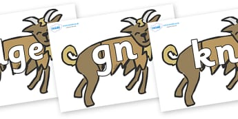Silent Letters on Billy Goats Gruff - Silent Letters, silent letter, letter blend, consonant, consonants, digraph, trigraph, A-Z letters, literacy, alphabet, letters, alternative sounds