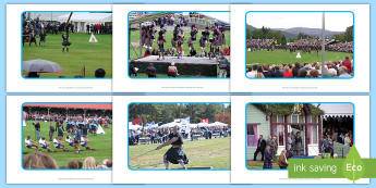 Braemar Gathering Photo Pack - Highland Games, Scotland, Scottish, culture, traditions, athletics, sport, dancing, queen, highlands
