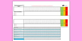 Year 5 Reading Assessment Spreadsheet Term 3 - test, sats, summative, diagnostic, practice, ks2, comprehension, revision, boosters
