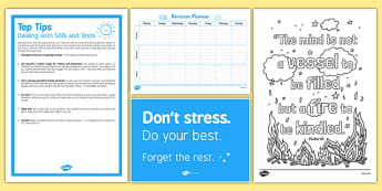 Exam Stress Busting Resource Pack