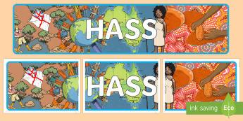 HASS Display Banner - Australia