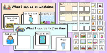 Lunchtime Breaktime and Free Time Support - time, support, free