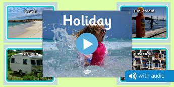 Holiday Audio Flashcards - holidays, photos, images, audio, sounds