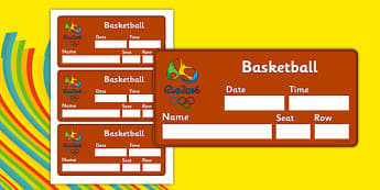 Rio 2016 Olympics Basketball Event Tickets - Basketball, Olympics, Olympic Games, sports, Olympic, London, 2012, event, ticket, tickets, entry, stadium, activity, Olympic torch, events, flag, countries, medal, Olympic Rings, mascots, flame, compete