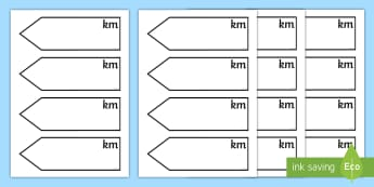 Measures Distance Display Sign - measures, maths, distance, display sign, sign post, road sign, kilometre, length