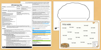 Writing About Pancake Day EYFS Adult Input Plan and Resource Pack - EYFS planning, Early Years activities, adult led  festival, celebration, Shrove Tuesday, Understanding the World, Christianity