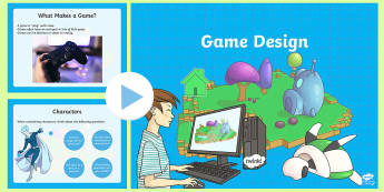 Introduction to Game Design PowerPoint - CfE TechnologiesGame DesignKoduScratch,craft, design,engineering,graphics,Scottish