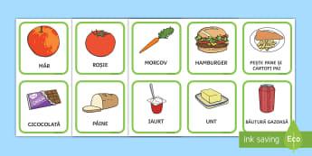 Sortează alimentele sănătoase și cele nesănătoase Activitate - viață sănătoasă, alimentație sănătoasă, fructe și legume, alimente, roadele pământului,R