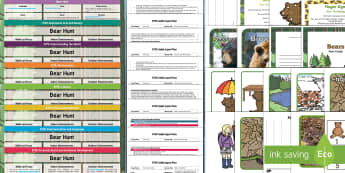 EYFS Bumper Planning Pack - We're Going on a Bear Hunt, Micheal Rosen, adult led, eyfs, early years planning,