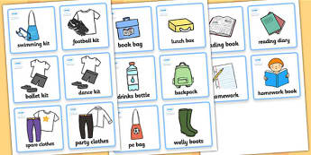 SEN Communication Cards Things To Remember (Boy) - SEN, communication cards, daily routine, my environment, Visual Timetable, SEN, Daily Timetable, boys, School Day, Daily Activities, Daily Routine KS1