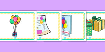 Birthday Party Place Mats - birthday party, place mats, birthday, party