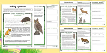 LKS2 Easter Tale Inference Differentiated Go Respond Activity Sheets - KS2, LKS2, Y 3&4, Year Three and Four, Key Stage Two, Key Stage 2, Easter, story, tale, festivals, e