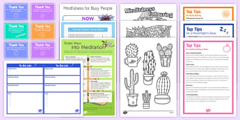 Teacher Wellbeing Bumper Resource Pack