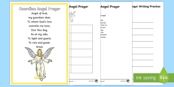 Guardian Angel Prayer Resource Pack - CfE Catholic Christianity, prayers, mass responses, Guardian Angel ,Australia