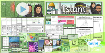PlanIt - RE Year 3 - Islam Unit Pack - planit, re, religious education, year 3, islam, unit pack