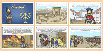 The Story of Hanukkah - story, hanukkah, judaism, menorah, oil