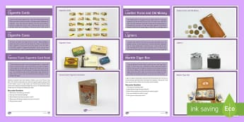 Elderly Care Smoking - Reminiscence Resource Pack - Reminiscence, smoking, activity co-ordinators, elderly care, care homes, ideas, support, dementia,