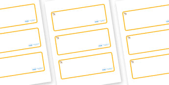 Welcome to our class - shell Themed Editable Drawer-Peg-Name Labels (Blank) - Themed Classroom Label Templates, Resource Labels, Name Labels, Editable Labels, Drawer Labels, Coat Peg Labels, Peg Label, KS1 Labels, Foundation Labels, Foundation Stage