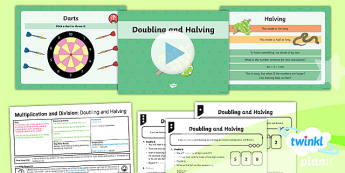 PlanIt Y4 Multiplication and Division Lesson Pack - Y4 Multiplication and Division Planit Maths, multiply and divide, halving, doubling