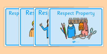 Respectful Behaviour Display Posters - respectful behaviour, education, home school, child development, children activities, free, kids, children behaviour, behavior children, behaviour management
