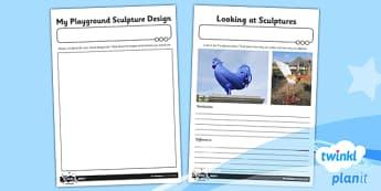 PlanIt - Art KS1 - Let's Sculpt Unit Home Learning Tasks