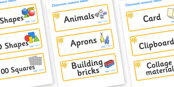 Orange Themed Editable Classroom Resource Labels - Themed Label template, Resource Label, Name Labels, Editable Labels, Drawer Labels, KS1 Labels, Foundation Labels, Foundation Stage Labels, Teaching Labels, Resource Labels, Tray Labels, Printable la