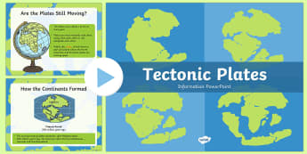 Tectonic Plates PowerPoint Presentation - tectonic plates, powerpoint, presentation