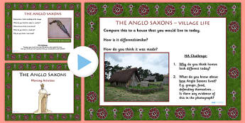 1 Week Anglo Saxons Topic Morning Activities LKS2 - saxons
