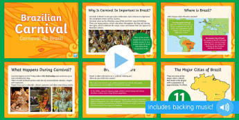 Brazilian Carnival (Carnaval do Brasil) PowerPoint - KS2, Brazil, carnival, festivals, celebrations, culture, geography, carnaval, brazilian, culture, so