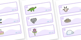 Lilac Themed Editable Drawer-Peg-Name Labels - Themed Classroom Label Templates, Resource Labels, Name Labels, Editable Labels, Drawer Labels, Coat Peg Labels, Peg Label, KS1 Labels, Foundation Labels, Foundation Stage Labels, Teaching Labels