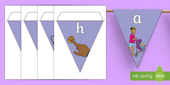 Push and Pull Physical Science Display Bunting - forces, motion, primary connections, classroom, flags