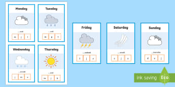 French Days of the Week Peg Activity Game - KS2, French, Resources,days, week, spelling, game, peg, jours, semaine