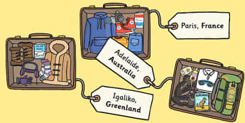 Packing for Weather Around the World Activity - activity, game, fun, fun activity, packing, holiday, clothes, what to wear, what to pack, weather, dress for weather, fun game, learning, play