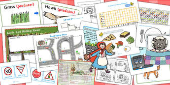 Little Red Riding Hood KS1 Lesson Plan Ideas and Resource Teach