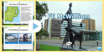 F.E.McWilliam PowerPoint - Northern Ireland Artists, sculpture, sculptor, F.E. McWilliam, art, ulster, art and design
