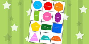 Bee Bot Coloured Shape Mat - shapes, numeracy, maths, visual aid