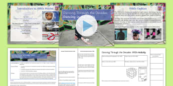 Dancing Through the Decades Lesson 4: The 1980s - Dancing Through the Decades, KS3, KS3 Dance, Social Dance, 1908s dance, I want to dance 1980s