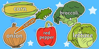 Vegetable Words On Vegetables - healthy eating, health, food