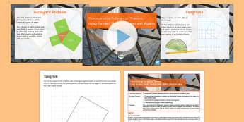 Demonstrating Pythagoras' Theorem Lesson Pack - Pythagoras' Theorem
