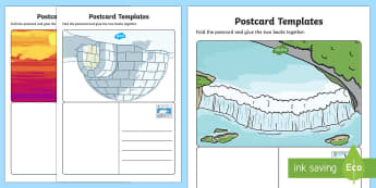 Canadian Post Office Role Play Postcards - canada, canadian, post office, post, office, role play, roleplay, postcards