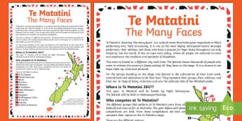 Te Matatini Display Poster  - Te Matatini, Kapahaka, cultural festival, Te Tai Tokerau, Tāmaki Makaurau, Tainui, Te Arawa, Mātaa