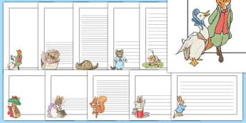 Beatrix Potter Page Borders Pack - beatrix potter, page borders, pack, page, borders