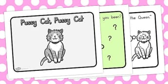 Pussy Cat Pussy Cat Story Sequencing A4 - australia, story, cat